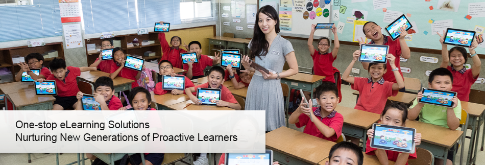 One-stop eLearning Solutions Nurturing New Generations of Proactive Learners