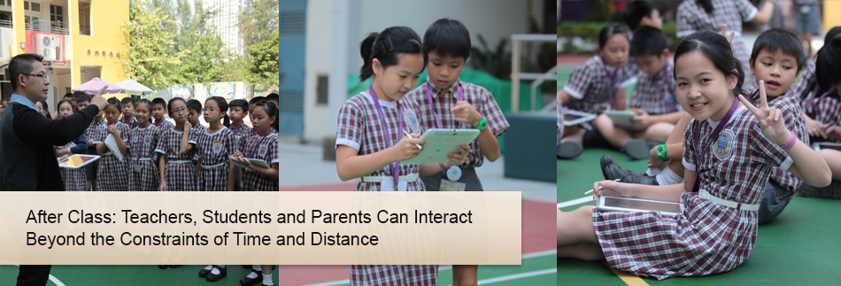 After Class: Teachers, Students and Parents Can Interact Beyond the Constraints of Time and Distance