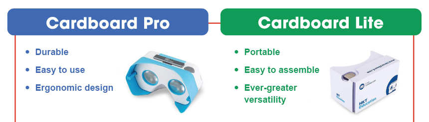 Cardboard Pro  Durable  Easy to use  Ergonomic design 